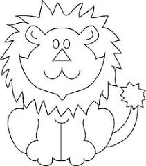 lion coloring lions coloring books stenciling