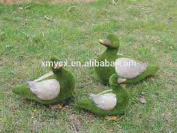 flocked resin animals garden ornament for sale buy resin animals