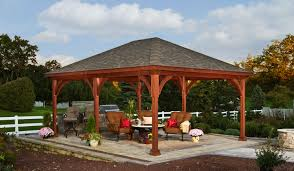 Pergola Kits Cedar by Triyae Com U003d Backyard Gazebo Kits Various Design Inspiration For