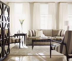 furniture striped armchairs with beige bernhardt sofa and striped