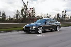 bmw f30 mineral grey velgen wheels vmb7 bmw f30 3 series