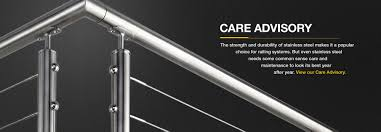 architectural railing systems and components