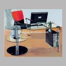 Glass Topped Computer Desk by Computer Case Desk Computer Case Desk Suppliers And Manufacturers