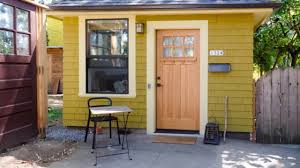 old garage converted into a tiny cottage in portland oregon