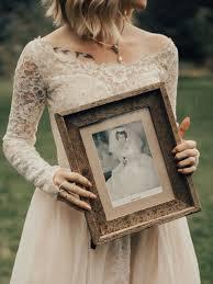 bride wars wedding dress bride surprises grandmother by wearing her wedding dress from 1962