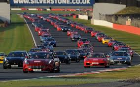 all the ferraris a sight to see 964 ferraris take silverstone circuit in