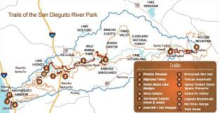 Riverside State Park Trail Map by Dog Friendly Trails In Socal Adventure 16