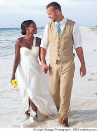 tropical wedding attire gorgeous on their beachfront wedding day is in the