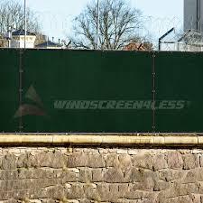 amazon com windscreen4less heavy duty privacy screen fence in
