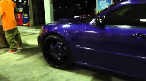 purple bowling ball paint dodge magnum weeeetttt youtube