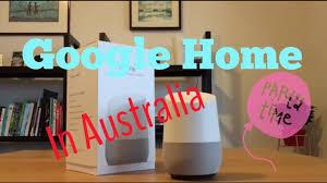google home in australia youtube