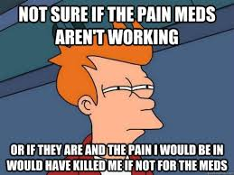 Chest Pain Meme - lessons from pain lymelight