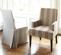 Dining Chair Slipcovers With Arms Slipcovered Dining Chairs Skirted Dining Chairs White Slipcovered