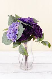 silk hydrangea silk hydrangea flower bouquet 12in
