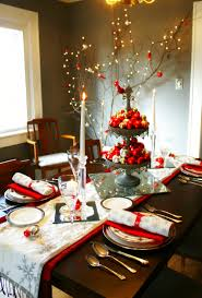 Decorating Dining Room Walls Holiday Dining Table Decorations 35 Christmas Table Decorations
