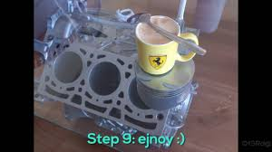 diy engine coffee table with leds build youtube