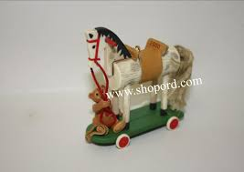 hallmark 2000 a pony for christmas ornament 3rd in the series qx6624
