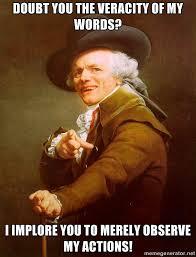 Funk Meme - uptown funk joseph ducreux archaic rap know your meme