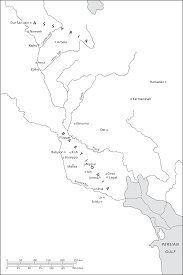 Babylonian Empire Map The Origins Of Writing In Mesopotamia