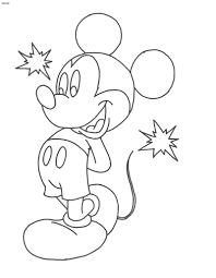 coloring coloring pictures of mickey mouse