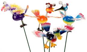 wacky bird garden ornaments fete prizes