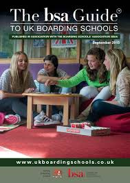 bsa guide to uk boarding schools sept 2015 by bulldog publishing
