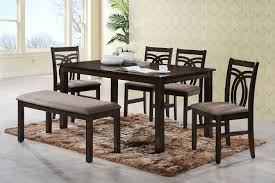 hometown stella solid wood 6 seater dining set price in india