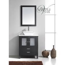 virtu usa ms 4428 s es brentford 28 single sink bathroom vanity in