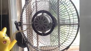 3D high velocity fan in the kitchen window at my relatives house