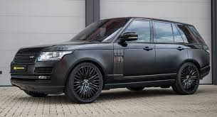 range rover gloss and satin black range rover gains carbon styling mods carscoops