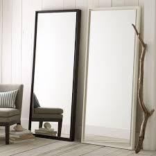 industrial wood floor mirror best 25 full length mirrors ideas on