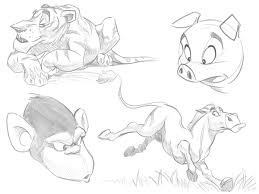 the secrets in drawing animals on behance