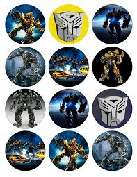 transformers cake toppers printables toppers transformers pesquisa diy ideas