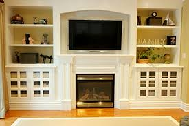 Built In Bookcase Designs Built In Fire Place Zamp Co
