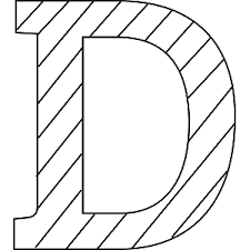 d coloring page