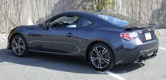 modified subaru brz file dark gray subaru brz rear jpg wikimedia commons