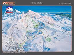 Sierra Nevada Mountains Map Sierra Nevada Wipeout
