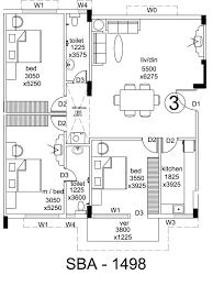 D3 Js Floor Plan Overview Aponaloy Madhyam Gram Kolkata Reside Group Kolkata