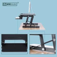 Computer Schreibtisch H Enverstellbar Höhenverstellbar Desktop Al Legierung Stehen Computer Schreibtisch