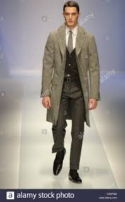 dark hair with grey models milan valentino menswear ready to wear dress coat model short