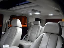 white smd led interior map and dome lights suburban tahoe 07 13