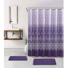 Purple Bathroom Rug Lavender And Gray Bathroom Purple And Gray Bathroom Wall Decor
