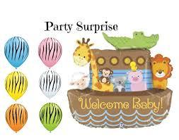 noahs ark balloon welcome baby baby shower balloons baby