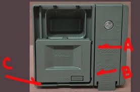 Dishwasher Enclosure Fixed Kdte104ess Kitchenaid Dishwasher Soap Dispenser Escaping Gasket