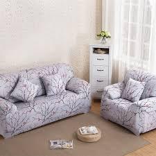 housse canapé extensible 4 places 1 2 3 4 places élastique housse de canapé polyester tissu spandex