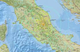 Italy Earthquake Map Deadly Earthquake Strikes Italy Reducing Towns To Rubble