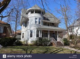 queen anne shingle style house richmond hill queens new york