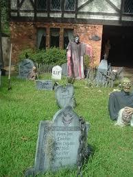 diy spooky halloween graveyard decoration ideas appliance in home