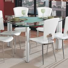 cheap dining table with 6 chairs dining room awesome 6 chairs triangle glass dining table