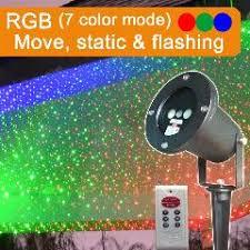 motion laser light projector rgb star laser shower motion laser christmas red green blue outdoor